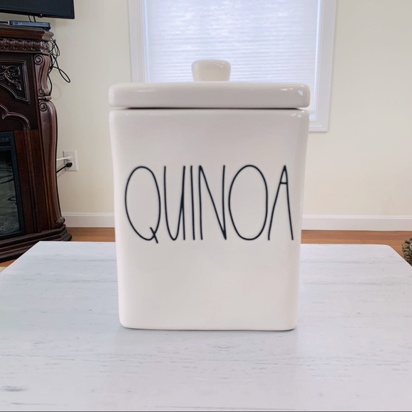 Rae Dunn square QUIONA canister